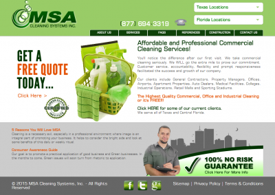 MSA Cleaning Systems